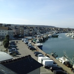 Photo 8 du gite : Vue sur le port de Saint-Vaast-la-Hougue