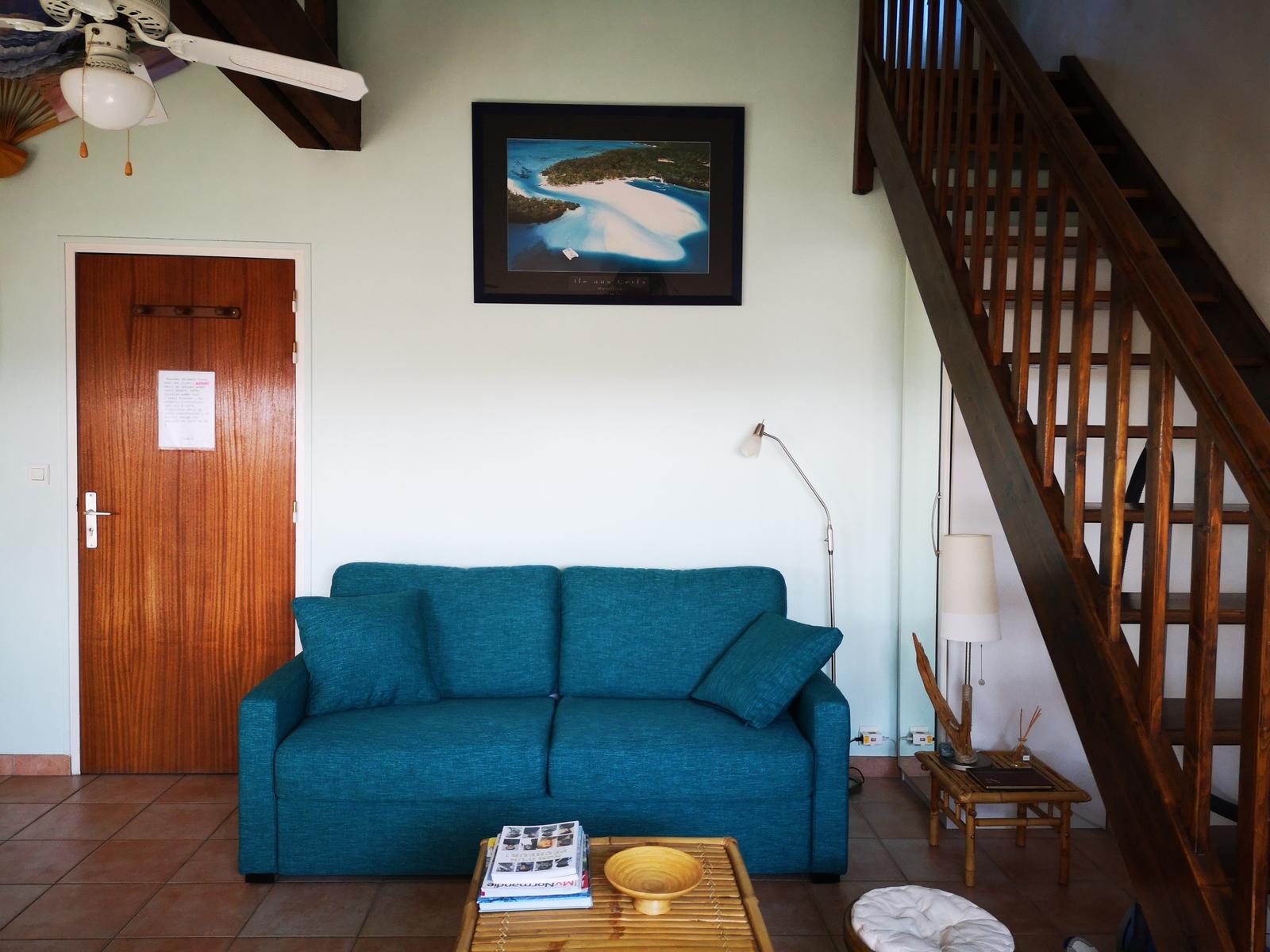 Image n° du gîte de mer : chambre avec lit 140