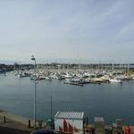 Photo 10 du gite : Vue sur le port de St-Vaast