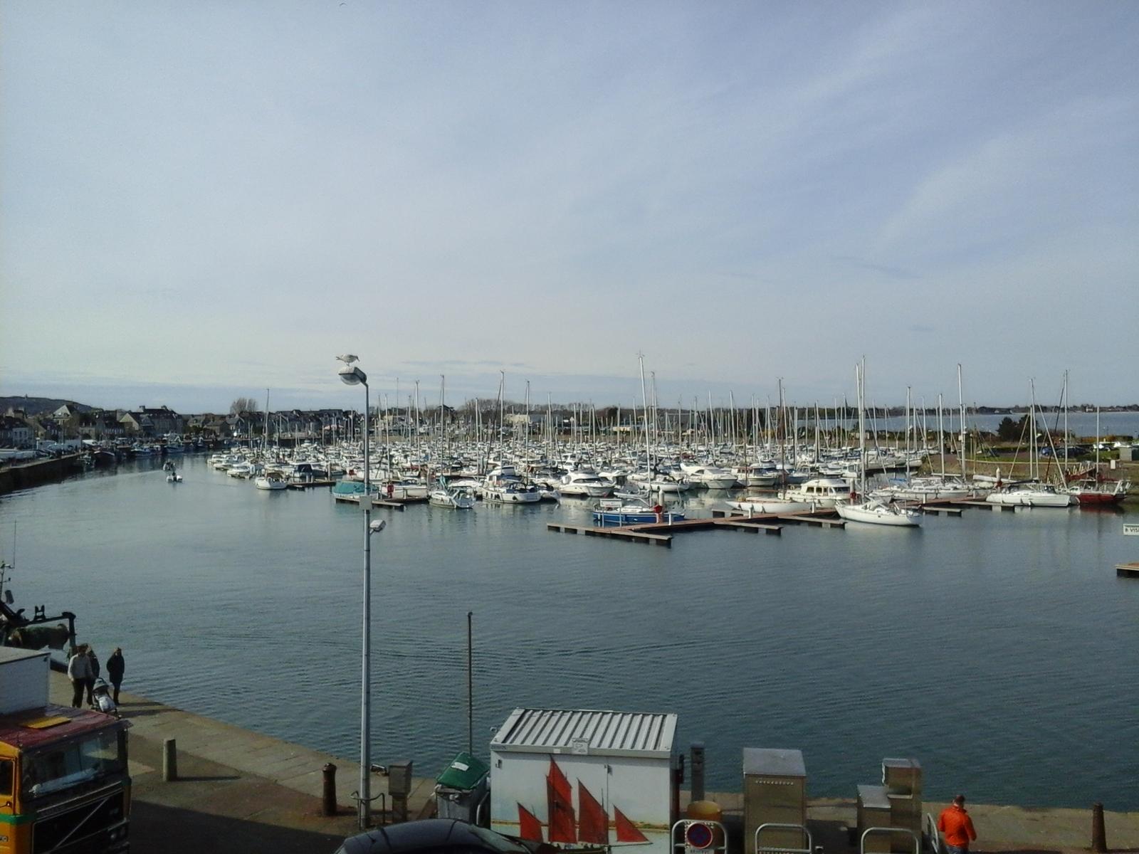 Image n°10 du gîte de mer : Vue sur le port de St-Vaast