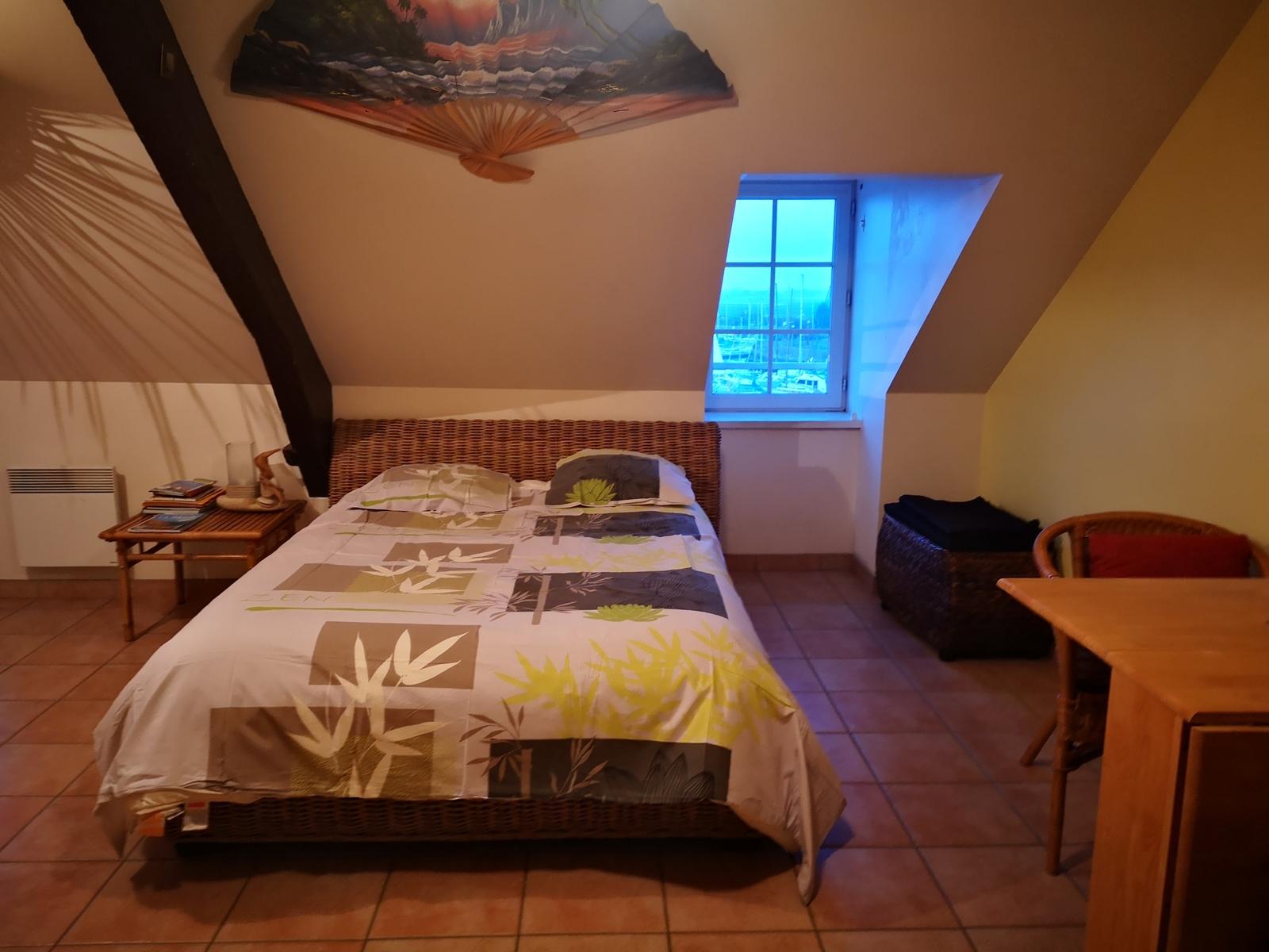 Image n°1 du gîte de mer : Vue sur cuisine/séjour du gîte Le Morne